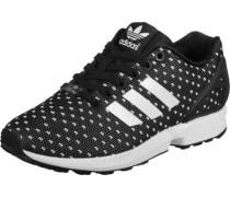 Zx Flux Schuhe schwarz weiß EU