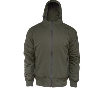 Fort Lee Herren Winterjacke oliv