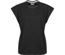 Pickford Damen T-Shirt schwarz weiß gestreift