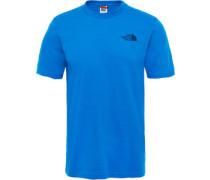 Simple Dome T-Shirt blau