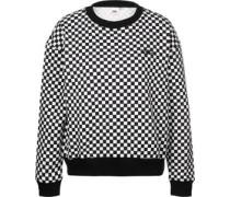 Checkers Crew W Sweater schwarz weiß kariert schwarz weiß kariert
