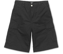 Regular Cargo Shorts black rinsed