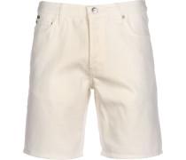 Herren Shorts weiß beige