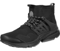 Air Presto Mid Utility Schuhe schwarz