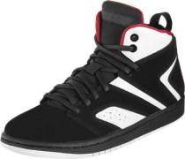 Flight Legend Hi Sneaker Schuhe schwarz rot schwarz rot