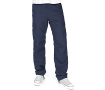 Cargo Regular Hose Herren blue rinsed