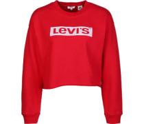 evi's ® Graphic Raw Cut Crew W Sweater Damen rot EU