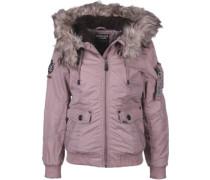 Mia W Winterjacken Winterjacke pink pink