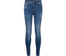 Callie Hw Damen Jeans blau