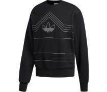 Rivalry Crew Herren Sweater schwarz