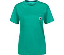 Carrie Pocket W T-Shirt Damen grün EU