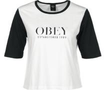 Vanity W T-Shirt schwarz weiß