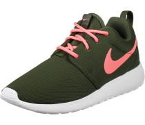 Roshe One W Schuhe grün pink oliv