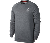 Jumpman Fleece Herren weater carbon hthr/white