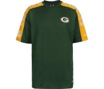 NFL Oversized Shoulder Print Green Bay Packers Herren T-Shirt grün