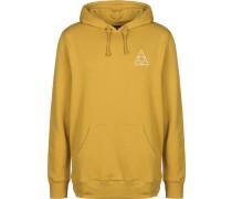 Triple Triangle Herren Hoodie gelb