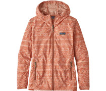 Bajadas Hoody Damen Windbreaker orange beige