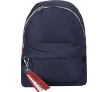 Logo Tape Daypacks Rucksack blau blau