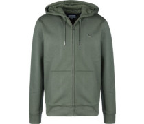 Classic Hooded Zipper oliv