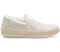 India Damen Schuhe weiß silber