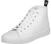Ellesmere Mid Leather W Schuhe weiß