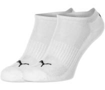 Cushioned Sneaker 2-Pack Socken weiß