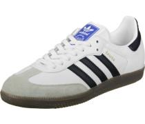 Samba Schuhe weiß schwarz
