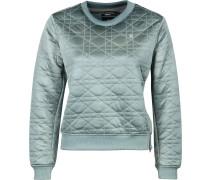 Dalvie Cropped Damen Sweater türkis
