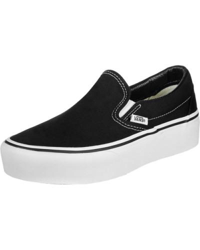 Classic Slip-On Platform Schuhe schwarz EU