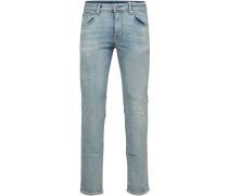 Shnslim-leon 6109 Herren Jeans blau