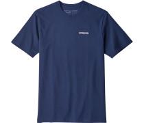 P-6 Logo Herren Multifunktionhirt blau