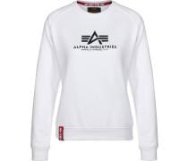 New Basic Damen Sweater weiß