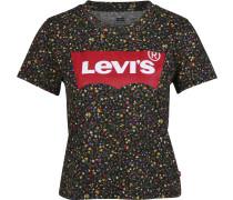 Levi'® Graphic urf Damen T-hirt chwarz