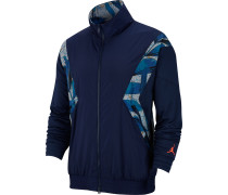 Flight Herren Trainingjacke blau