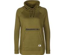 Modern Funnel-Neck W Sweater oliv