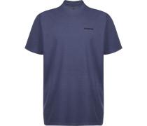 P-6 Logo Herren Multifunktionsshirt blau