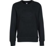 Ebossed Graphic Crew Sweater schwarz schwarz