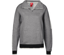 W Sweater grau meliert