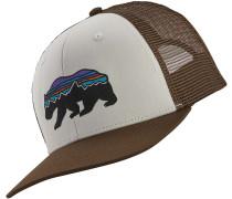 Fitz Roy Bear Trucker Cap white/brown