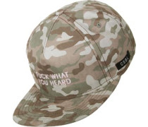What You Heard Snapback Camo