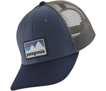 Shop Sticker Patch LoPro Trucker Cap blau