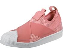 Superstar Slip On W Schuhe pink weiß