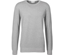 Pique Sweater grau grau
