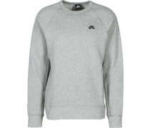 Icon Sweater grau meliert