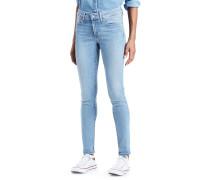 711 Skinny Jeans Damen blau