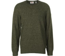 Övik Re Wool Strickpulli oliv