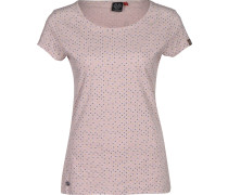 Mint Dots T-Shirt Damen pink