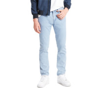 L8 Slim Straight Jeans contract