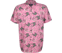 Go To Herren Kurzarmhemd pink