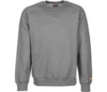 Chase Sweater grau meliert